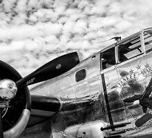 B-25 Mitchell Bomber (WWII) Yankee Warrior by Mike Koenig