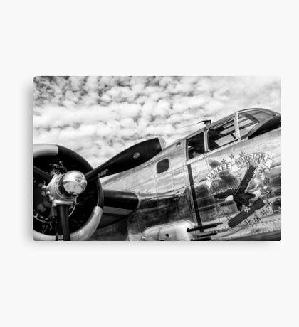 B-25 Mitchell Bomber (WWII) Yankee Warrior Canvas Print
