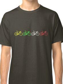 Bike Stripes Tour de France Jerseys v2 Classic T-Shirt