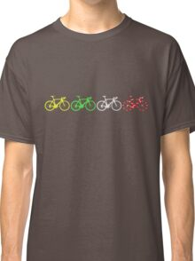 Bike Stripes Tour de France Jerseys v2 Classic T-Shirt