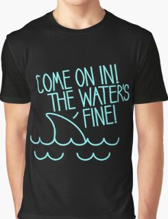 The Water's Fine Graphic T-Shirt