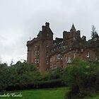 Glenborrodale Castle by Alexander Mcrobbie-Munro