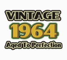 Vintage 1964 - Aged To Perfection One Piece - Short Sleeve