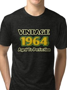 Vintage 1964 - Aged To Perfection Tri-blend T-Shirt