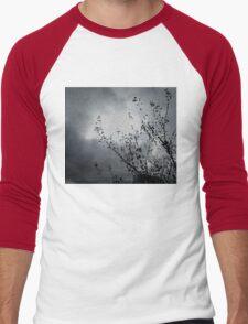 silver night Men's Baseball ¾ T-Shirt