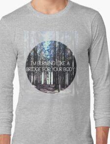 Brand New Lyric Long Sleeve T-Shirt