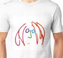 John Lennon Doodle Self Portrait Unisex T-Shirt