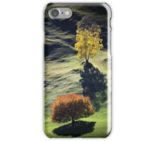 Majestic sunset in the mountains landscape iPhone Case/Skin