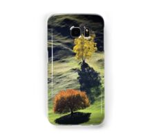 Majestic sunset in the mountains landscape Samsung Galaxy Case/Skin