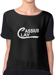 Cassius Clay Chiffon Top