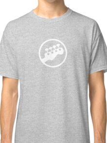 Rock Band Instrument Symbol - Bass Classic T-Shirt
