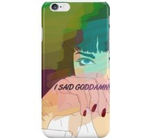 Mia Wallace, Pulp Fiction iPhone Case/Skin