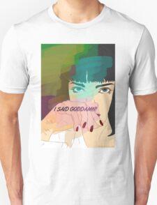 Mia Wallace, Pulp Fiction Unisex T-Shirt