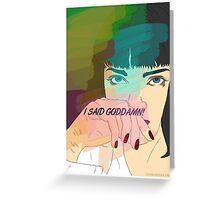 Mia Wallace, Pulp Fiction Greeting Card