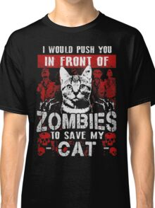 ZOMBIES CAT Classic T-Shirt