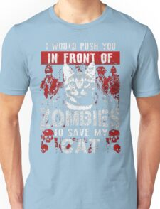 ZOMBIES CAT Unisex T-Shirt
