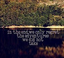 adventure by Ingrid Beddoes