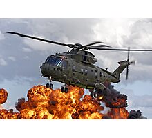 AgustaWestland Merlin HC3 Helicopter Photographic Print