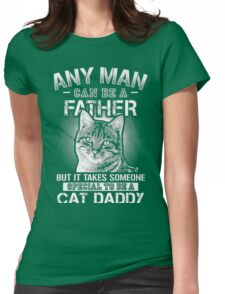 CAT DADDY Womens Fitted T-Shirt