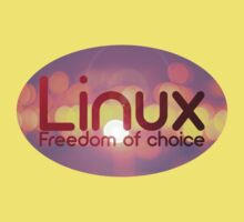 Linux - Freedom Of Choice Baby Tee