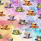 TEA CUPS PATTERN by Tammera