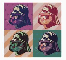 Darth Kitty Pop - Pastel One Piece - Short Sleeve