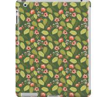 Lush Garden Floral Pattern iPad Case/Skin