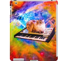 Keyboard Cat in Space iPad Case/Skin
