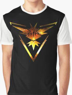 Team Instinct Pokemon Go Elements Graphic T-Shirt