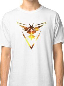 Team Instinct Pokemon Go Elements Classic T-Shirt