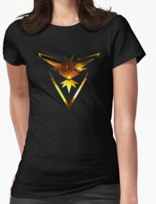 Team Instinct Pokemon Go Elements Womens Fitted T-Shirt