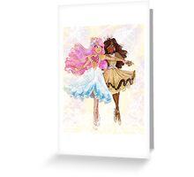 dance with me princess Greeting Card