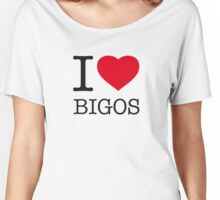 I ♥ BIGOS Women's Relaxed Fit T-Shirt