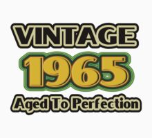 Vintage 1965 – Aged To Perfection One Piece - Short Sleeve