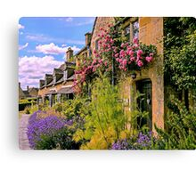 Cotswold Colours Canvas Print