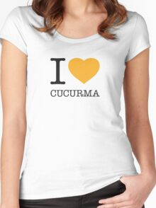 I ♥ CUCURMA Women's Fitted Scoop T-Shirt