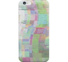 Glitch art 5/6 iPhone Case/Skin