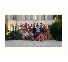 Lovely Lads in Aix En Provence Art Print