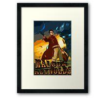 Malcom Reynolds Framed Print