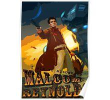 Malcom Reynolds Poster