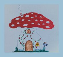 Toadstool House One Piece - Short Sleeve