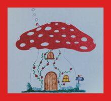 Toadstool House Baby Tee