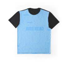 Just Read Blue Graphic T-Shirt