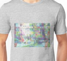 Glitch art 6/6 Unisex T-Shirt