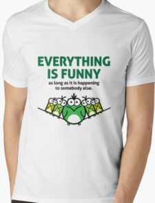 Everything is Funny Mens V-Neck T-Shirt