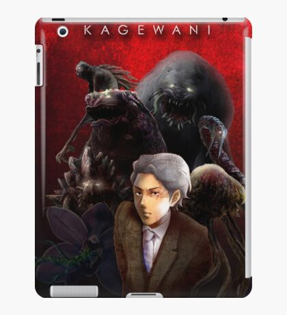 Kagewani Season 1 Opening Screen iPad Case/Skin