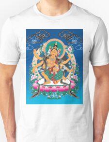 Yoga Mandala Henna Ornate Ohm Tan T-Shirt