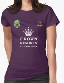 NRL Telstra Premiership Melbourne STORM 2016 Womens Fitted T-Shirt