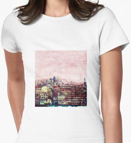 Porto Ribeira Womens Fitted T-Shirt