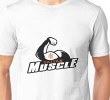 Saiyan Muscle - Black Unisex T-Shirt